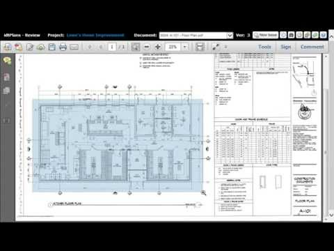How to Measure PDF Construction Drawings - YouTube