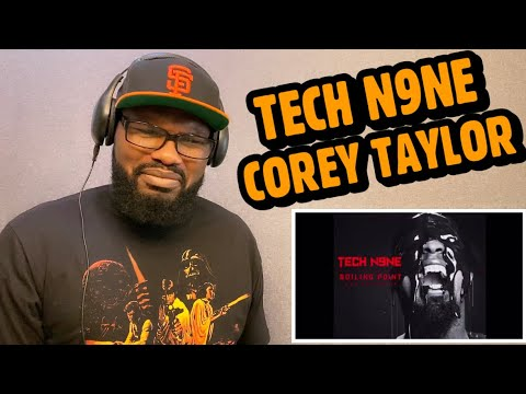 Tech N9ne - Wither ( feat. Corey Taylor ) | REACTION