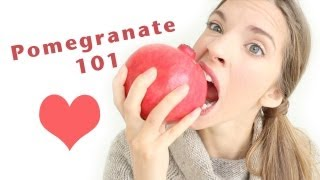 HOW TO PREPARE/OPEN & EAT A POMEGRANATE! Thumbnail