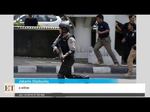 Witness Says 3 Suicide Bombers Explode In Jakarta Starbucks