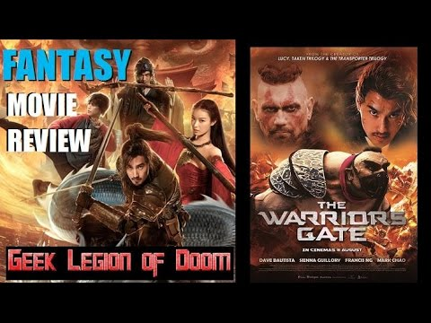 ENTER THE WARRIOR'S GATE (  2016 Dave Bautista ) aka 勇士之門 Fantasy Movie Review streaming vf