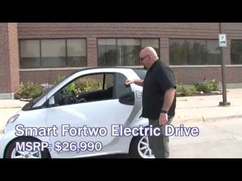 Get charged up for the 2015 Smart fortwo Electric Drive