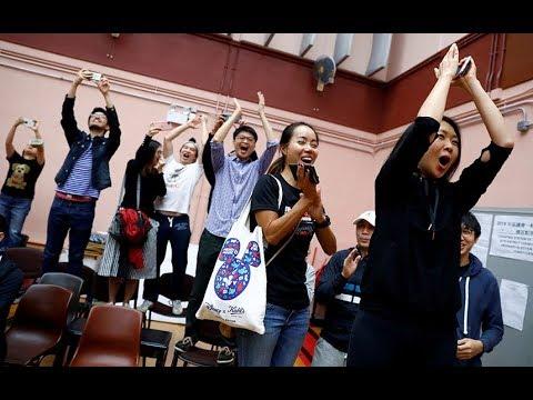 Pro-democracy Groups Win Landslide In Hong Kong Elections