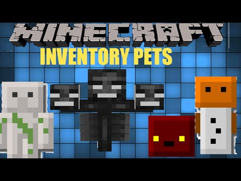 Minecraft: Wither Fail! | Inventory pets mod showcase Ep 2 ...