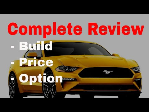 2018 Ford Mustang EcoBoost Premium Fastback w/ Performance Package - Build & Price Review