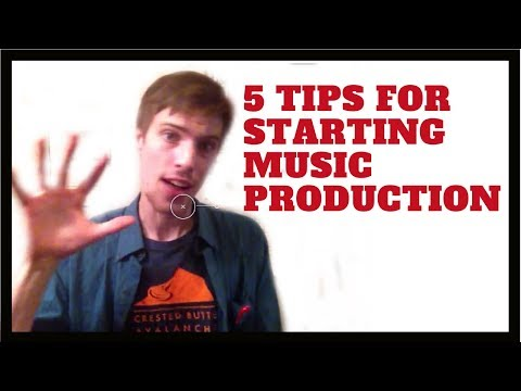 5 Music Production Tips for Beginners