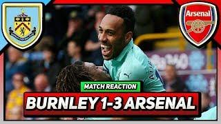 "Burnley 1-3 Arsenal | ""Put Some Respect On Aubameyang's Name!"" | (Bhav)"