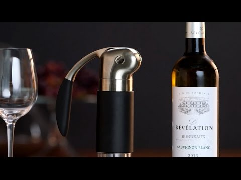 How To Open And Aerate Wine With Rabbit Wine Tools
