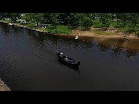 Columbus' ship replicas traverse Oneida Lake (video)