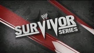 WWE - SURVIVOR SERIES 2012 FULL PPV LIVE STREAM - WWE '13 (MACHINIMA)