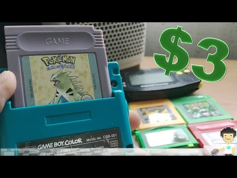 6 Clone & Custom GameBoy/GBA Cartridges!