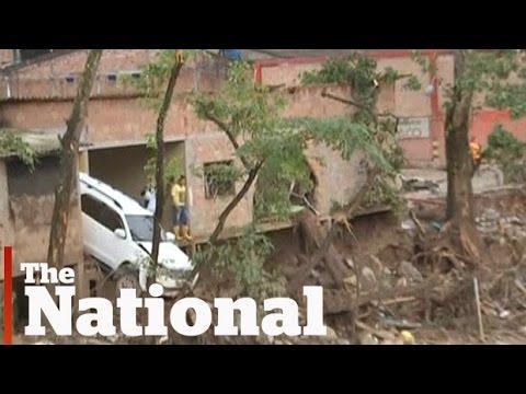 Colombia devastated by mudslides