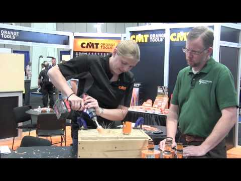 CMT's New FASTX4 Carbide-tipped Hole Saws –AWFS 2015