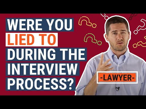 Fraudulent Hiring Law Explained by an Employment Lawyer