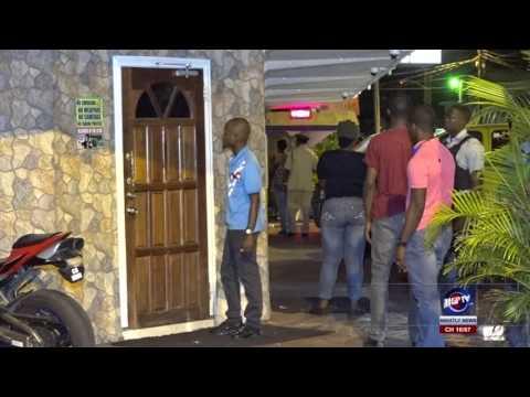 POLICE SWOOP DOWN ON NIGHTSPOTS