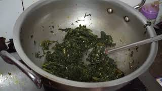 how to cook Notha shak Bangali traditional cook Recipe