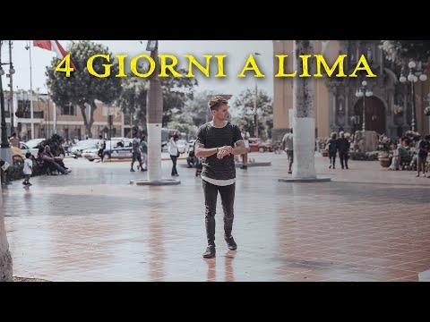 SUD AMERICA - Cosa fare in Lima Peru ( in 4 giorni ) VLOG 01