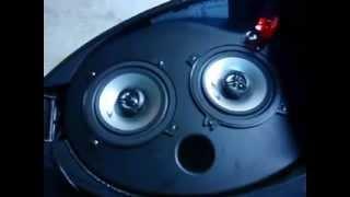 Helmfachanlage mit Alpine SXE-1325S Teil.1