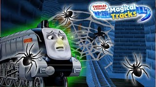 Spencer Adventure in HAUNTED CASTLE | Thomas & Friends: Magical Tracks | Unlock All Train Set