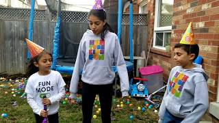 Hzhtube Kids Fun play with  Colored Spider Pinata