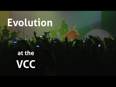 Evolution Performance at the Vancouver Convention Centre