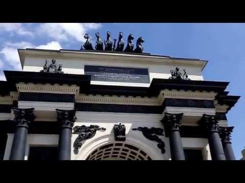 Москва: Бородинская панорама/Moscow: The battle of Borodino panorama museum