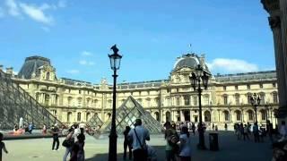Парижский Лувр(Когда я была в Париже, решила снять там короткое видео., 2014-07-02T13:40:22.000Z)