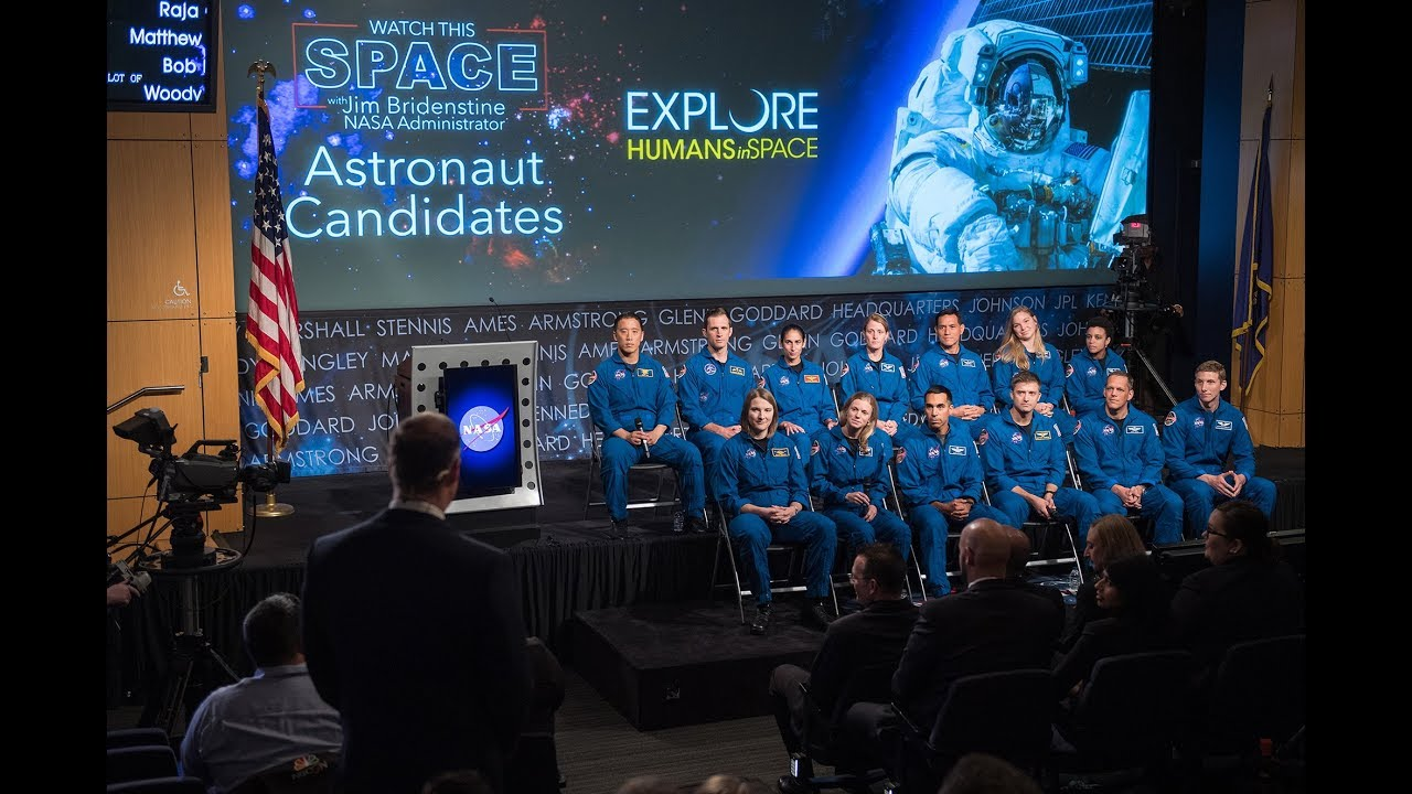 NASA Administrator Talks Training, Future Missions with Newest Astronaut Class