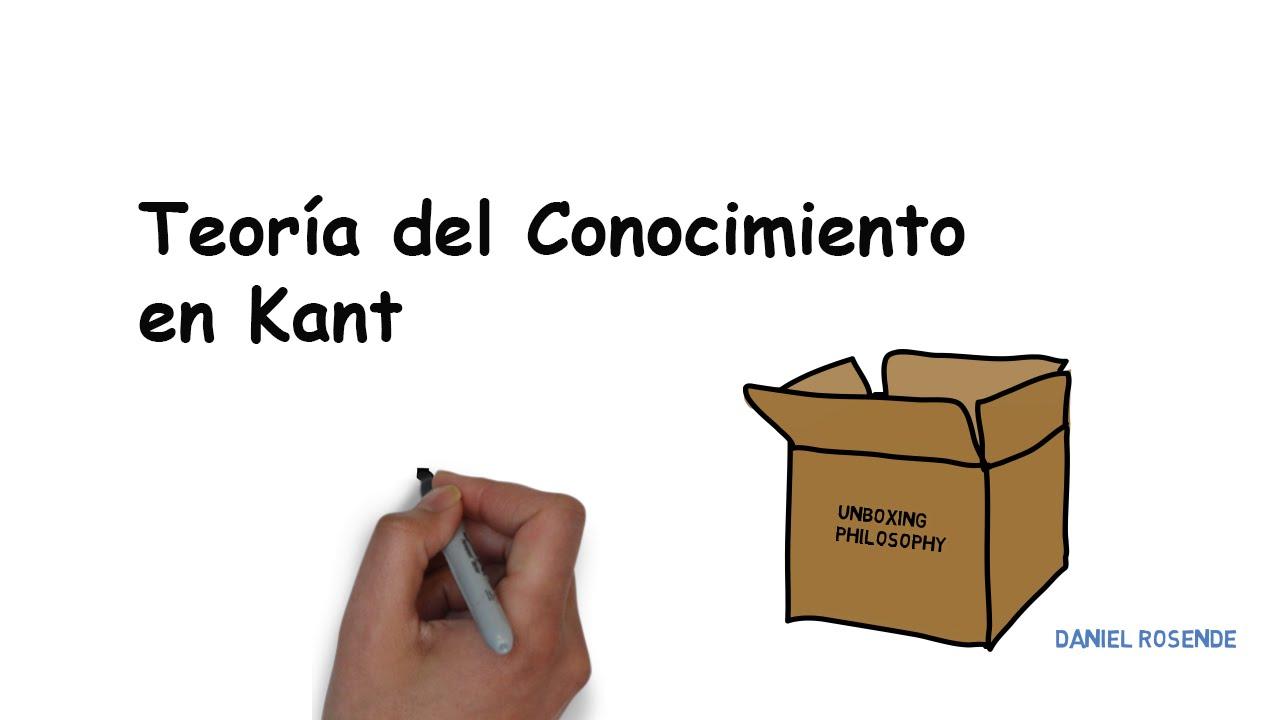 4f4e8df24641 La Teoría del Conocimiento en Kant - YouTube