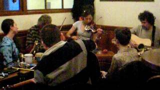Scottish folk music at a pub