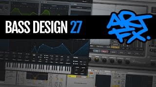 Bass Design 27: Complex-movement Neuro bass with Serum and Trash 2