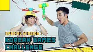 Special Mission : Korean Games Challenge!!!