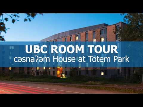 UBC Totem Park Room Tour - c̓əsnaʔəm House