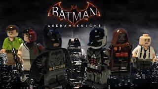 Batman Arkham Knight custom Lego Minifigures Showcase