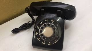 Pac Bell Rotary Dial Corded Telephone - Vintage/Old School