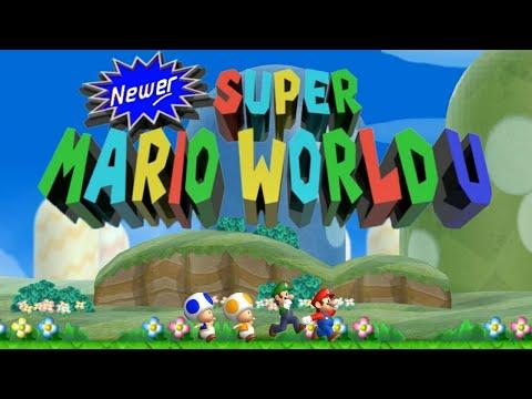 Newer Super Mario World U Complete Walkthrough Youtube