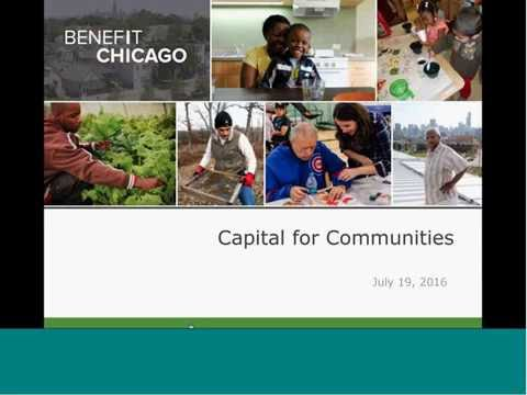 Webinar: Benefit Chicago Capital for Communities