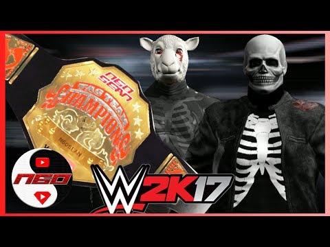 N60 Tag Team Title Open Challenge : Terror 887 vs. ??? | WWE 2K17 [s6e11]