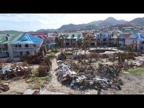Orient Bay  Sxm After Irma
