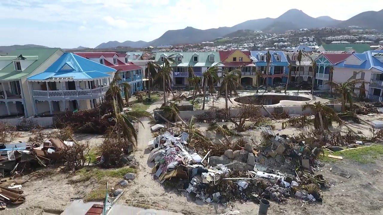 Orient Bay Sxm After Irma Youtube