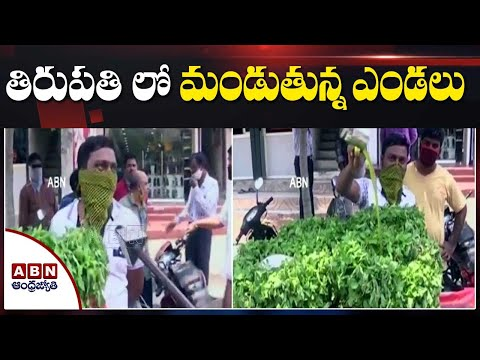 High Temperature Recorded in Tirupati | People Face to Face | ABN Telugu teluguvoice