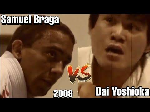 Samuel Braga vs Dai Yoshioka 2008 Highlights