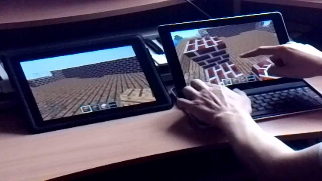 Minecraft Pocket Edition Multiplayer Test YouTube - Minecraft zusammen spielen ohne wlan