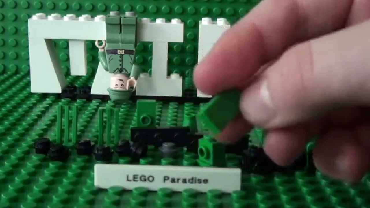 Mini Series How To Build A Mini Lego Tank  YouTube