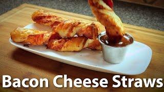 Easy Bacon Cheese Straws Recipe