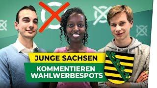 Landtagswahl 2019: Junge Sachsen kommentieren Wahlwerbespots