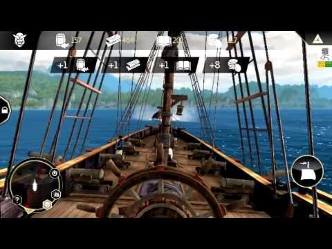 Играем в Assassins Creed Pirates на Android (Скачать)