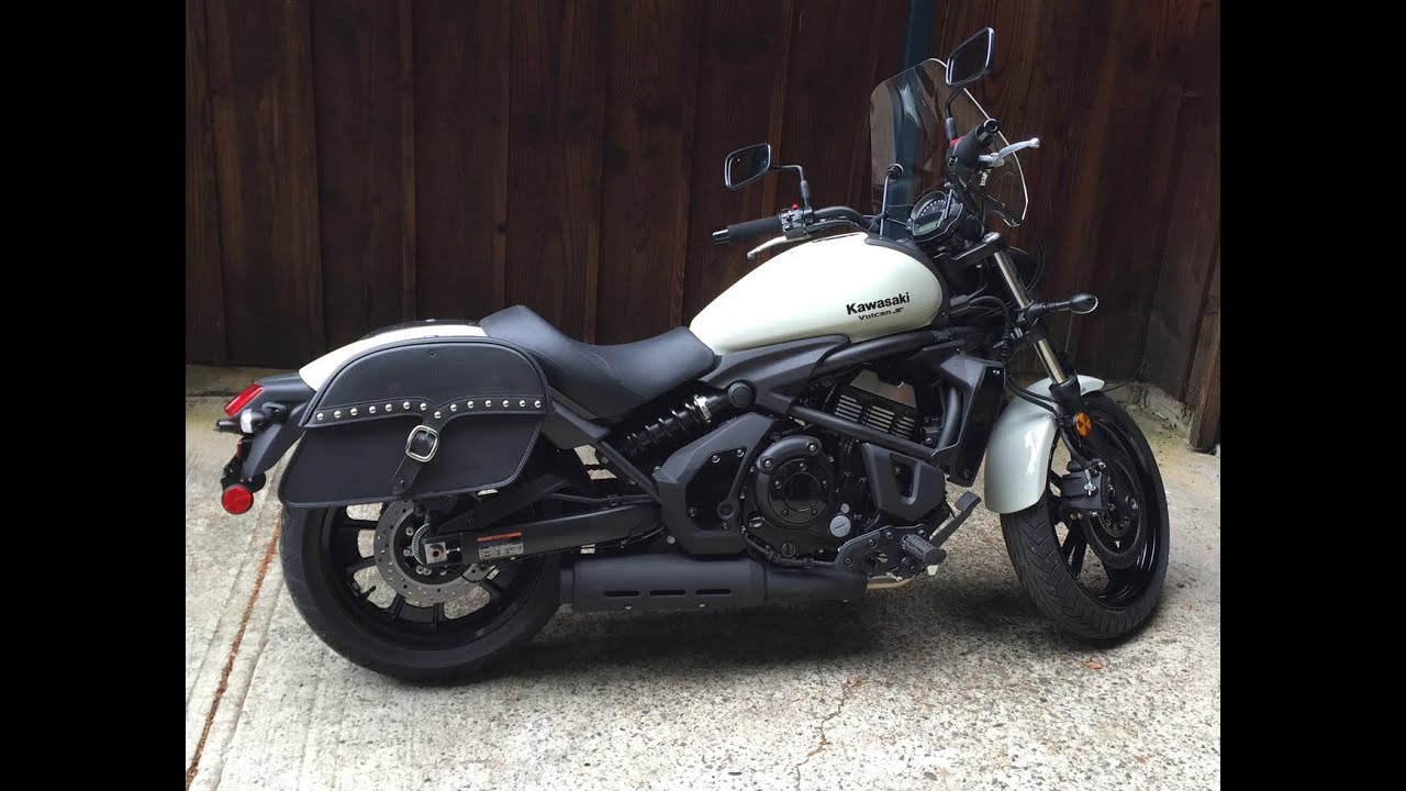 Kawasaki Vulcans Abs Motorcycle Saddlebags Review