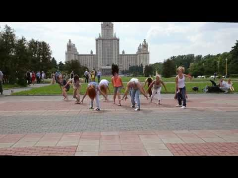 Шоу-балет Rush-Style. Флешмоб с молодоженами на Воробьевых горах