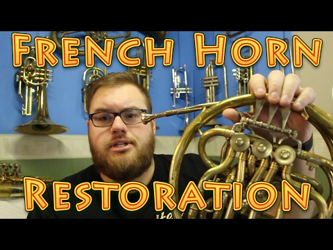 Help Me Restore This Unusual French Horn